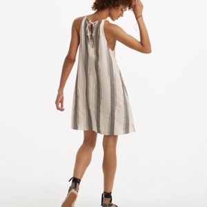 NWT Lou & Gray Striped Swing Halter Dress